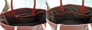 カスタムオーダーのトートバッグ