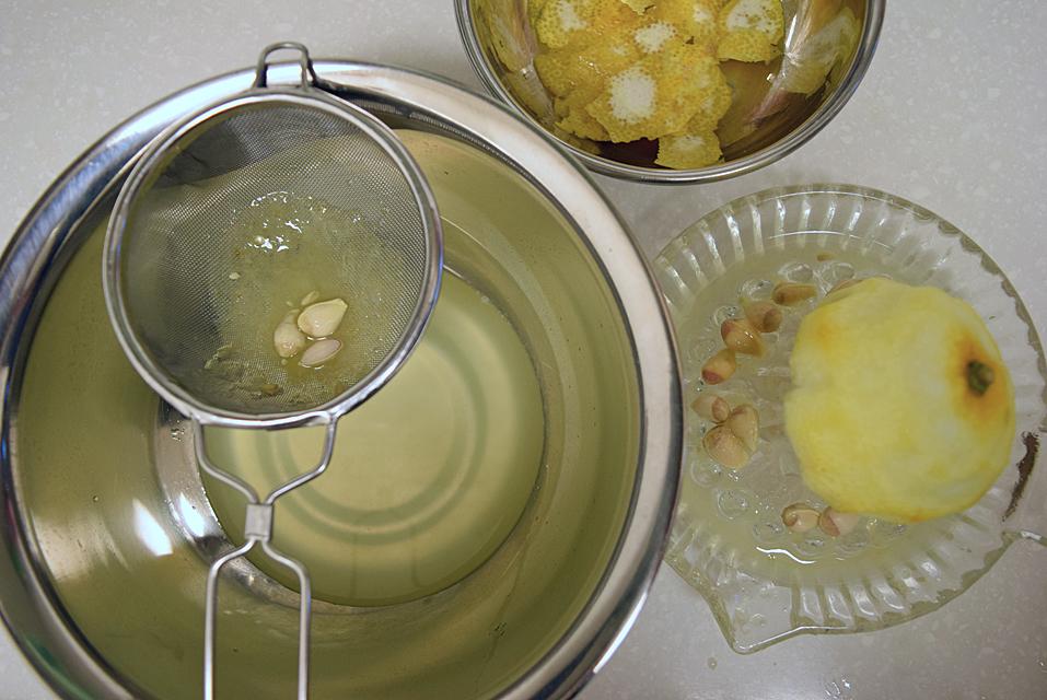 柚子ポン酢作り